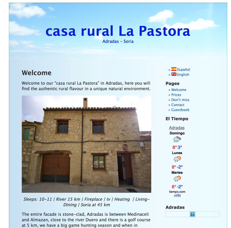 CasaRuralLaPastora.com