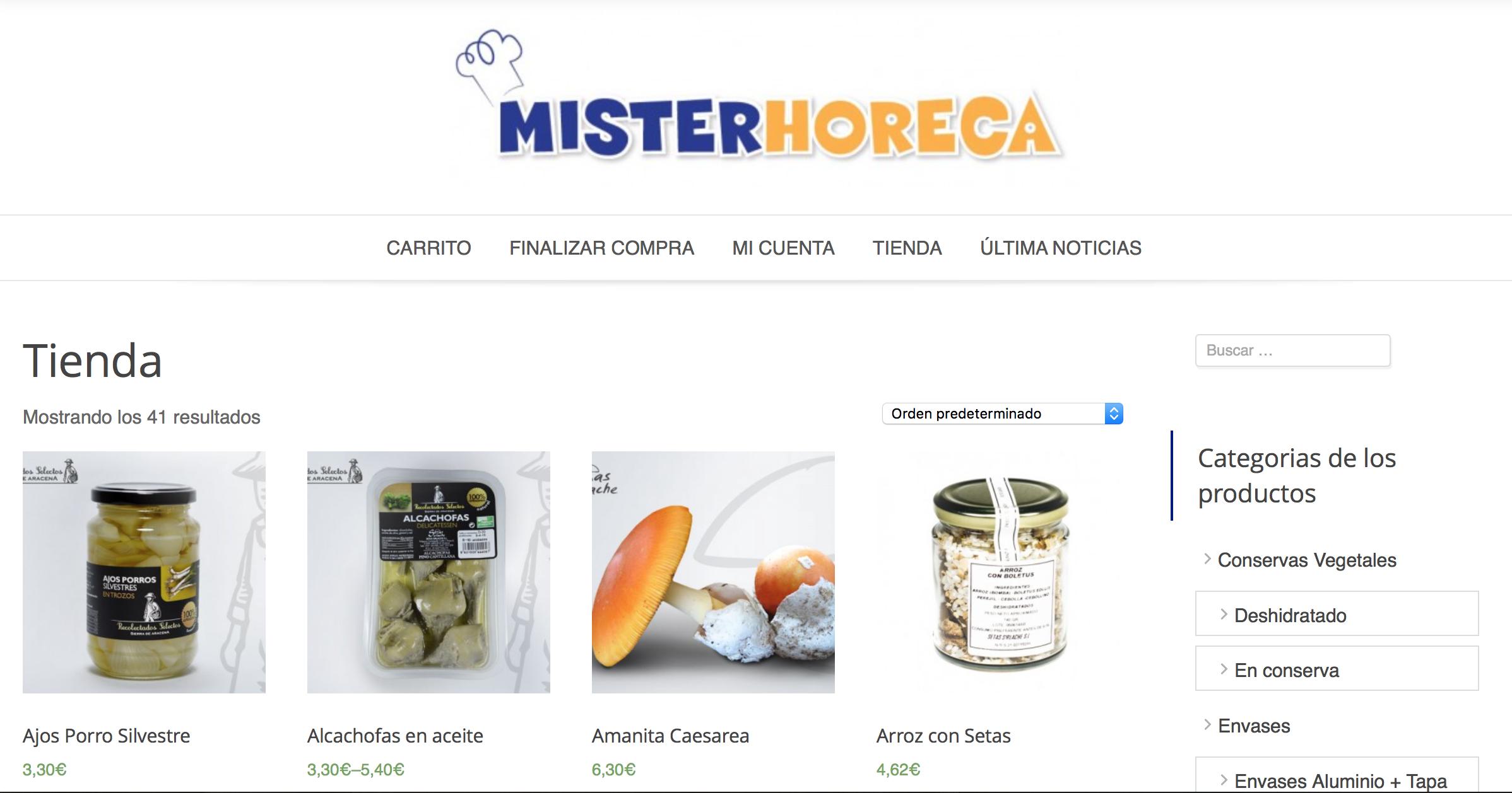 MisterHoreca.es