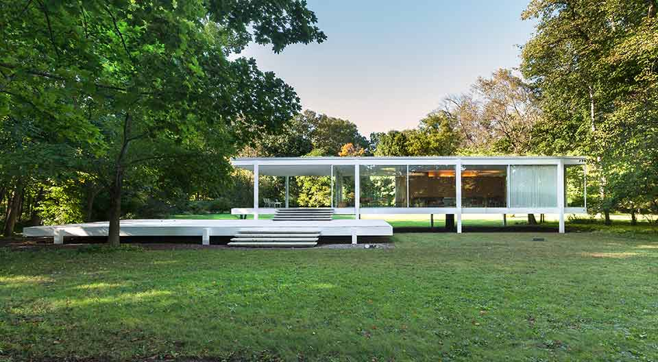 designing our home copying from the great Mies van der Rohe