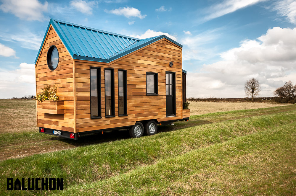 eco friendly tiny house for visitors