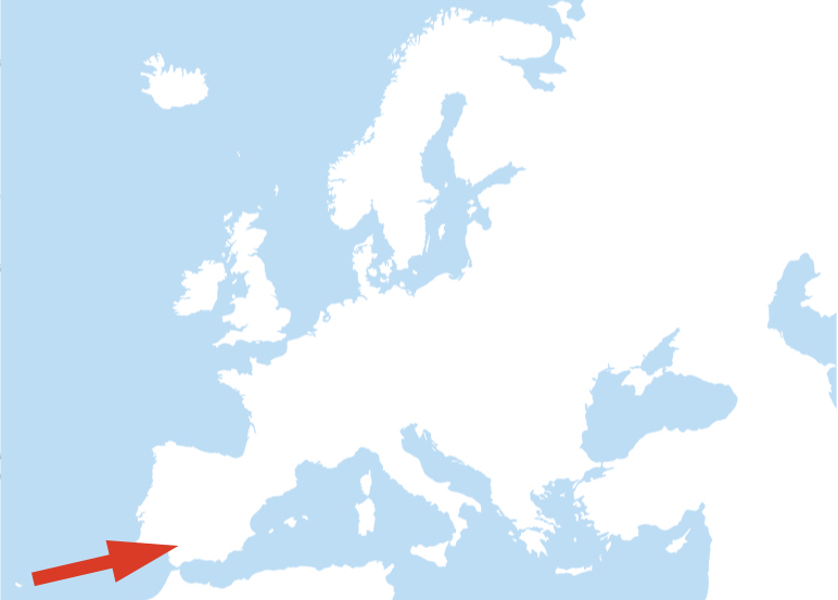 Living in the south of Europe
