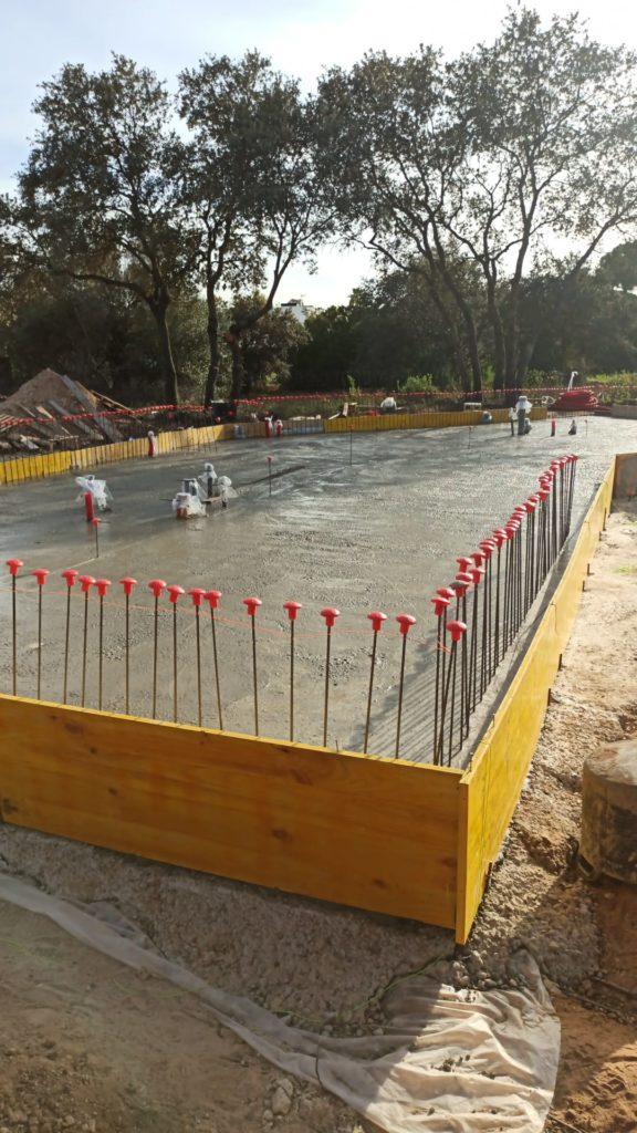 pour concrete slab eco friendly home